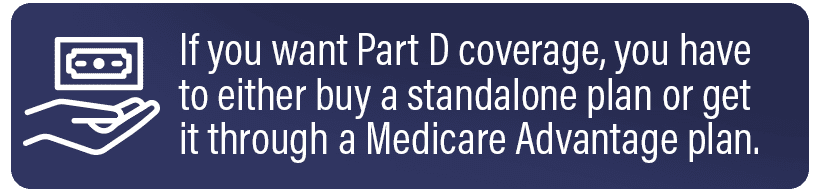 If you want Part D coverage