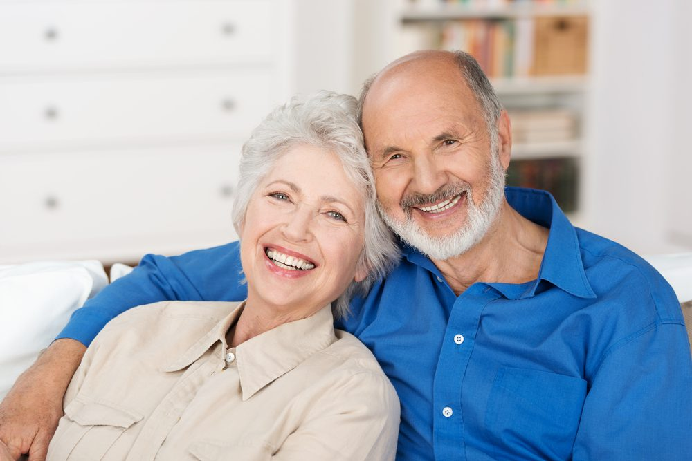 Baby Boomer couple happy with there Medicare Supplement Rates Increase