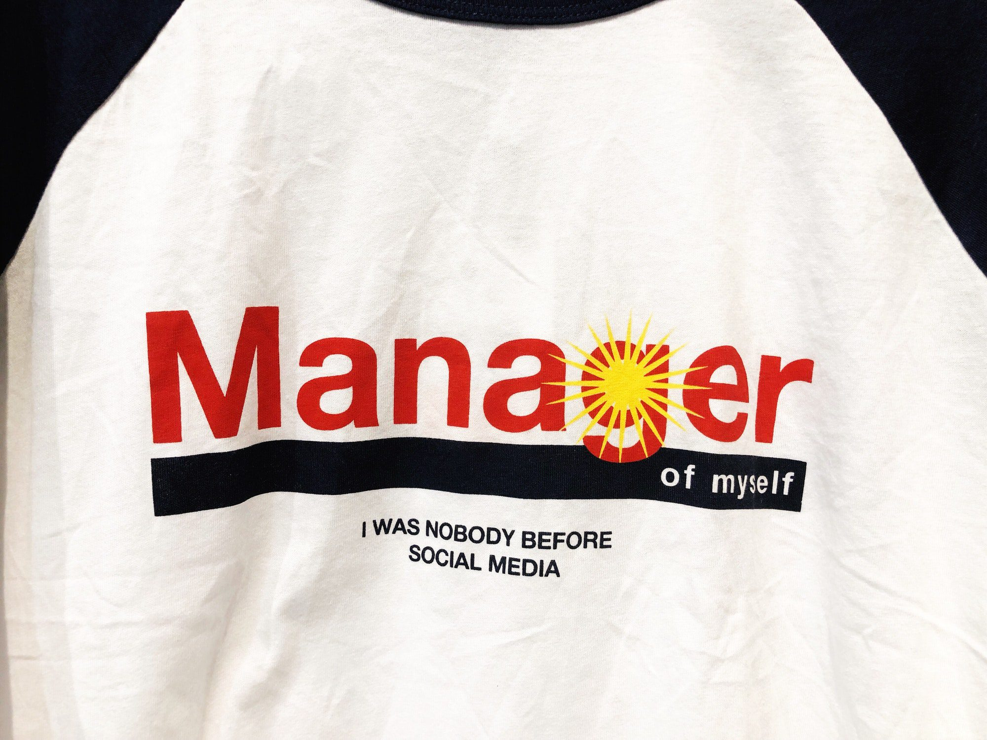 Manager of myself