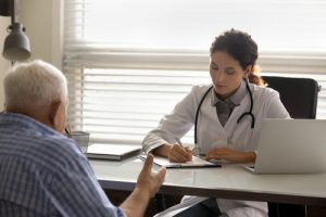 Treatment Plan Attentive Young Latin Female Doctor Fill In Medical Who Needs Long-Term Care Insurance?
