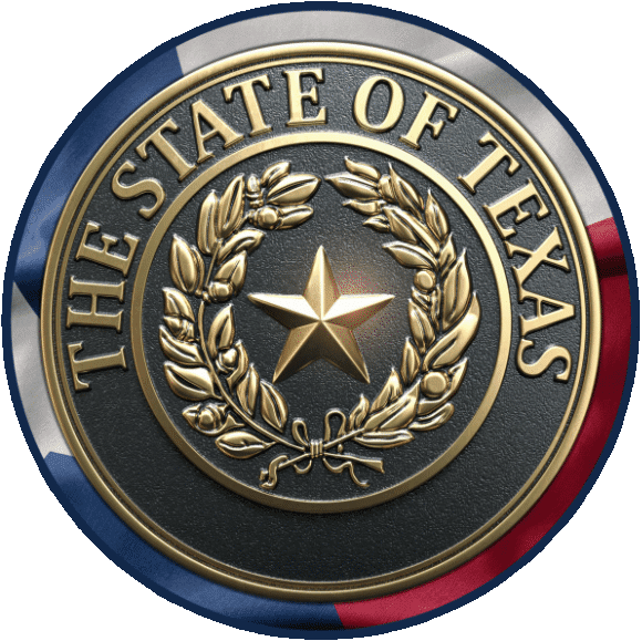 The State of Texas Seal which is proudly used on the website for Texas Medicare Advisors